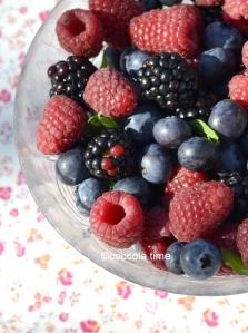 Dolce estivo ai frutti di bosco e yogurt greco ….della Chiarina