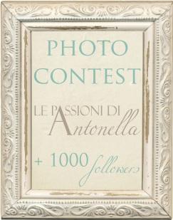banner contest Le Passioni di Antonella