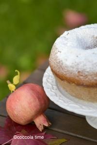 Ciambella integrale  al  profumo di agrumi e cannella