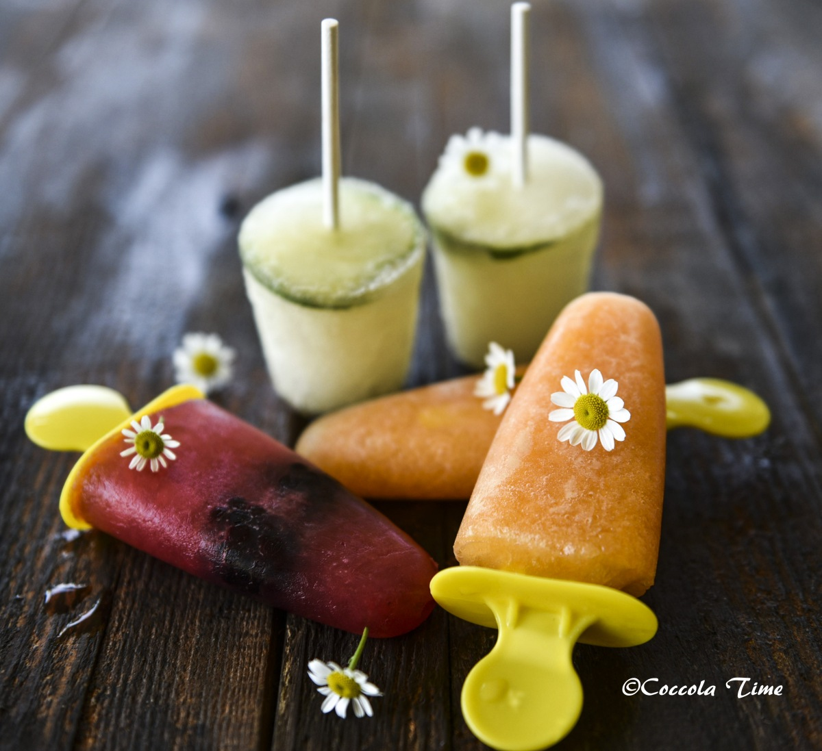 Ghiaccioli, sorbetti e gelato ...W l'estate #Seguilestagioni